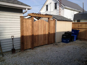 Fence and deck installation Windsor Region Ontario image 6