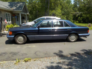 1989 MERCEDES 560 SEL  price reduced