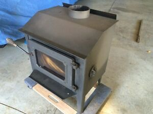 Rarely used wood stove Cambridge Kitchener Area image 3