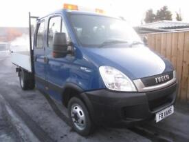 Iveco Daily 2.3TD 35C11D DOUBLE CAB TIPPER ONLY 66k