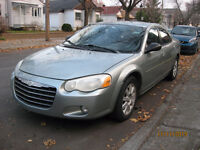 2006 Chrysler Sebring touring seulement 132,000Km A1 8 roues