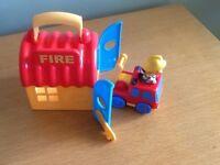 ELC Happyland Take Along Firestation
