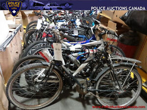 Lot of 34 Assorted Used Bikes