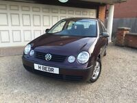 Vw polo 1.2 12v very low miles