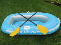 Inflatable boat bateau gonflable