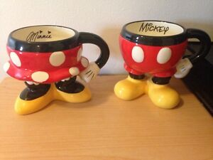 Minnie and Mickey Mouse mugs  Stratford Kitchener Area image 1