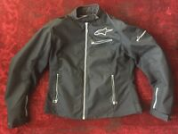 REDUCED! Lg Alpinestars Motorcycle Jacket
