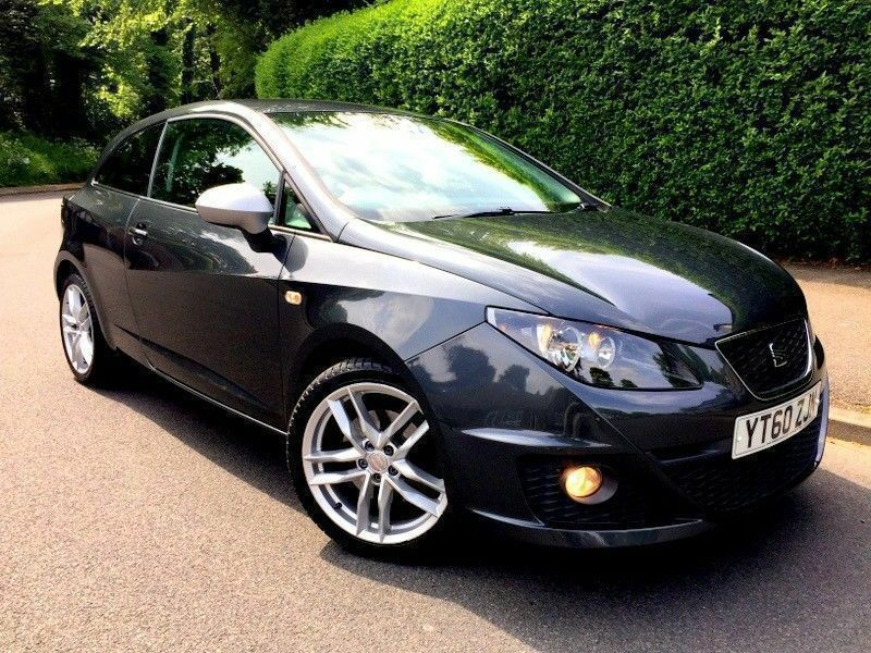 Low Miles 2010 Seat Ibiza Fr Tsi 14 Dsg Semi Automatic Grey 3
