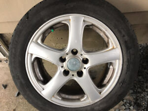 205/55/16 3 Alloy Rims and tires 2009 Jetta Wagon