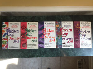 Chicken Soup Books- All for $15