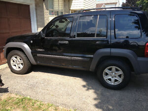 2004 Jeep Liberty Sport SUV, Crossover Cambridge Kitchener Area image 1