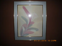 FRAMED PICTURE OF A LILY