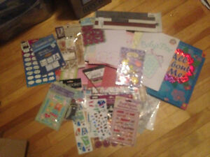 lots & lots of scrapbooking items