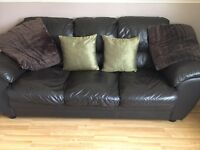Leather 3 & 2 seater
