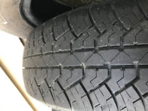 SUMMER TIRES  - good condition - 4 for $90 obo