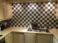Large fully furnished double room to rent in a lovely 3 bedroom apartment, PARKING SPACE included.