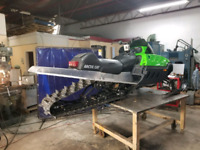 Aluminum Welding Services for Snowmobiles