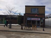 Downtown Collingwood Commercial Space for Rent