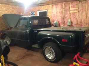 1968 gmc C10 frame off restoration. Sell or trade