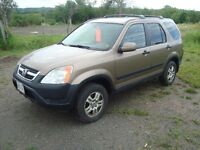 2002 HONDA CRV 4WD 4DR $3500 TAX'S IN CHANGED INTO UR NAME