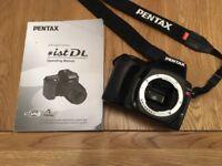 Pentax SLR Digital Camera *ist DL Body Only