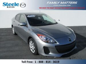 2012 MAZDA MAZDA3 GX (INCLUDES A NO CHARGE WARRANTY)