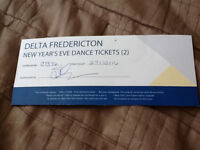 2 New Year's Eve Dance Tickets to the Delta