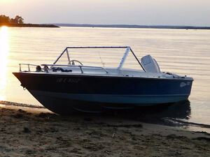 St-Maurice 15' outboard 60HP Johnson