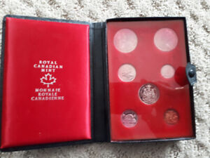 Royal canadian mint 1971 coins