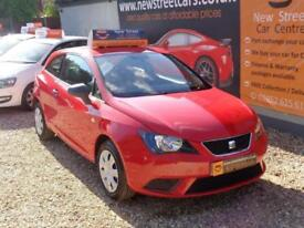 SEAT IBIZA 1.2 S SPORTCOUPE AC 3dr Red Manual Petrol, 2013