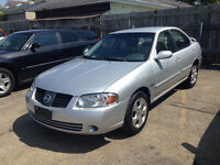 06 Nissan Sentra Automatic!!:tags: civic,cruze, versa, corolla,