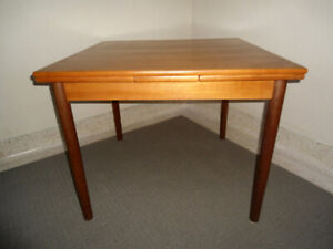 Mid-Century Modern small Teak Dining and or Games Table