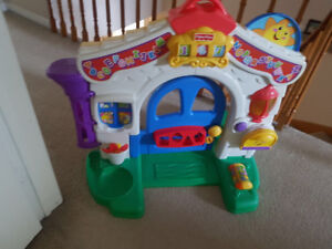 Fisher Price Laugh and Learn Learning House.