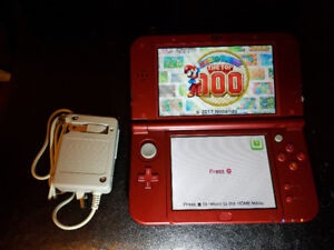 Mint New Nintendo 3ds xl with tons of games