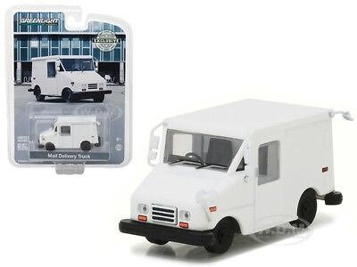 Long Live Mail Delivery Vehicle  Llv  Plain White 1 64 By Greenlight 29911