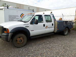 2007 Ford F-550 4X4 Flatbed Dually