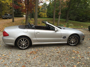 2003 Mercedes-Benz SL500 - Glass Panoramic Roof Convertible