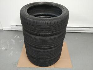 4 pneus d'été 215/45/R18 GOODYEAR  en bonne condition