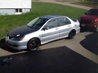 2005 Mitsubishi Lancer Ralliart for parts or fixer upper