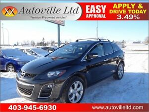 2010 Mazda CX-7 GT AWD LEATHER NAVI BCAM 90DAYSNOPYMNT!