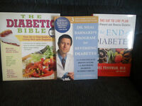 3 Brand New Diabetes Books from Coles. All 3 for 10.00.