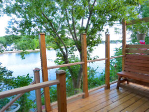 RENT MY OASIS CAMPBELLFORD AIR BnB PRIVACY ON THE TRENT RIVER