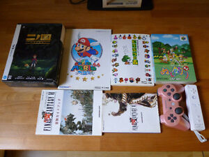 Lot jeux retro DS N64 Wii Final Fantasy Mario Animal Crossing