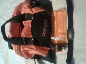 Orange Theory Heart Rate monitor/gym bag/water bottle