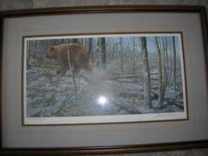 John Seery-Lester L. E. Print  After the Fire - Grizzly