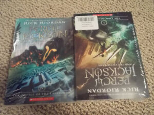 Percy Jackson and the Olympians- Lightning Thief books