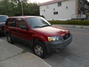 2005 Ford Escape 4portesFORD ESCAPE 2005 MANUEL 4 VUS