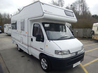Autohomes Wayfinder 4 Berth Large Rear Lounge Motorhome For Sale Bargain