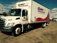 2013 Hino  low mileage with van and liftgate