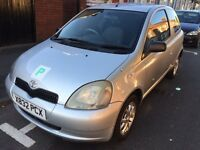 Toyota Yaris GS 1.0 VVT-i silver 3dr manual (ask me offer ask me offer)